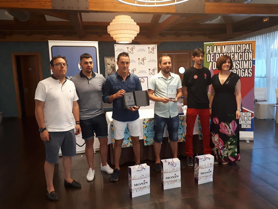 participantes entrega premios 3º ruta de cócteles sin alcohol - medina del campo